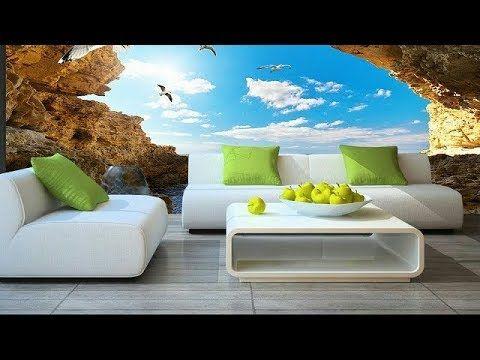 50 Amazing 3d Floor Painting Wallpaper For Living Room Bath Room 3d Home Decor Design 2018 Y 3d Wallpaper For Walls Wallpaper Living Room 3d Wallpaper Blue