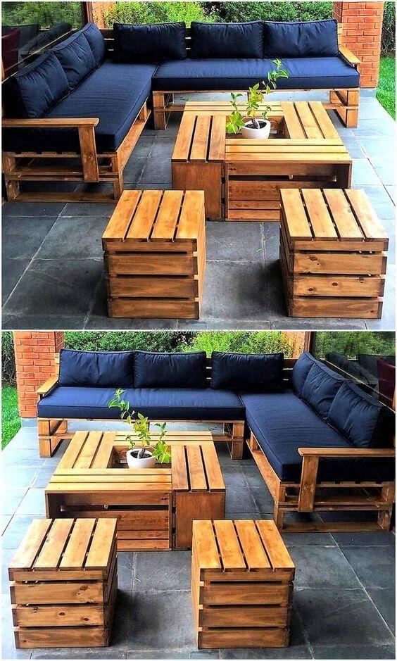 Diy Pallet Furniture Outdoor