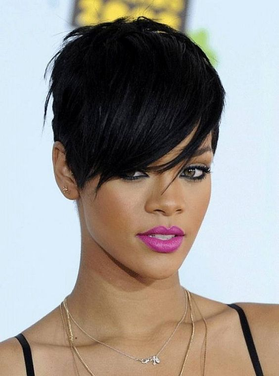 Magnificent African Americans Short Hairstyles And Africans On Pinterest Short Hairstyles Gunalazisus