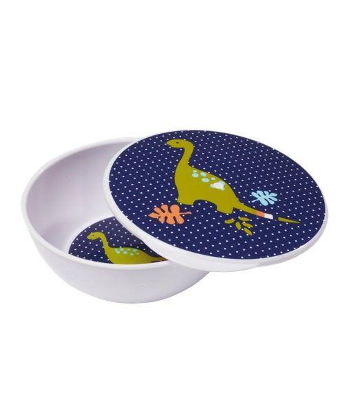 Mothercare Bowl con Tapa Dino Azul - Mothercare
