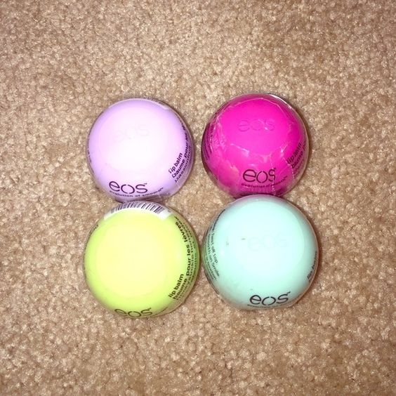 EOS lip balm 4 Eos lip balm. New. Never used. eos Makeup Lip Balm & Gloss
