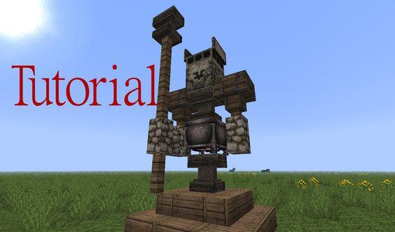 Minecraft Tutorial Eisenmann Statue (deutsch)