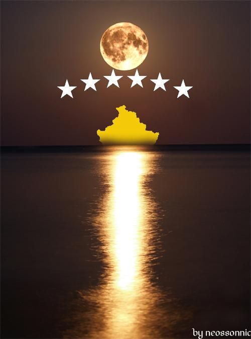 Kosova Is The Moon By Neossonnic On Deviantart In 2020 Kosovo