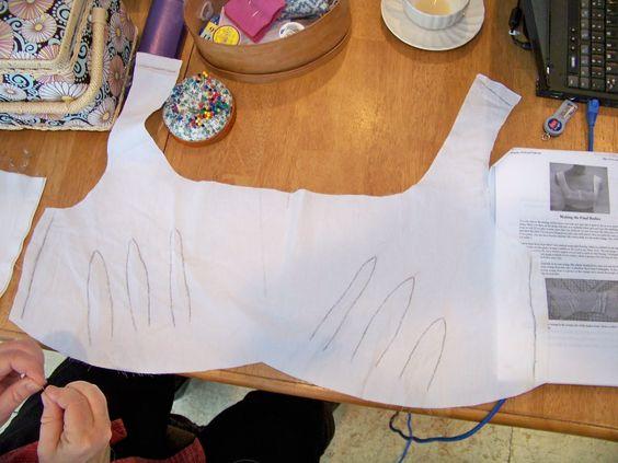 A Tutorial: Sense and Sensibility Bodiced Petticoat - Part 3