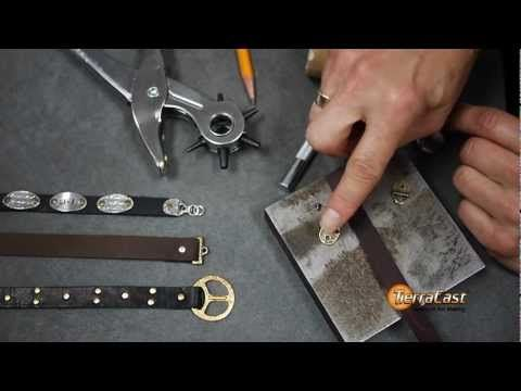 Video setting compression rivets snaps wire jewelry for Rivets for leather jewelry
