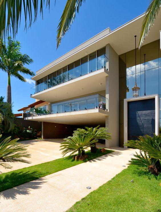 Mansão contemporânea   WinkMag  -  Projeto: Arquiteto Marcelo Melhado.