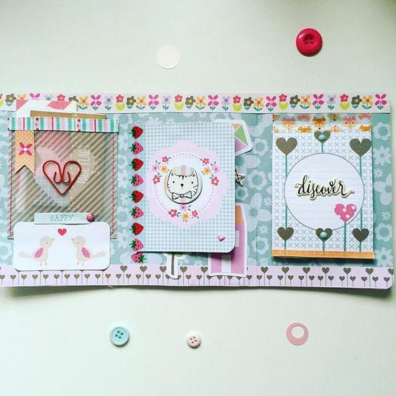Inside flip book #craftasylum #sendsomelove #sendmoremail #happymail #snailmail…