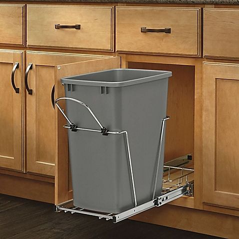 Rev-A-Shelf® Single Configuration 35 qt. Pull-Out Waste Container - Bed Bath & Beyond