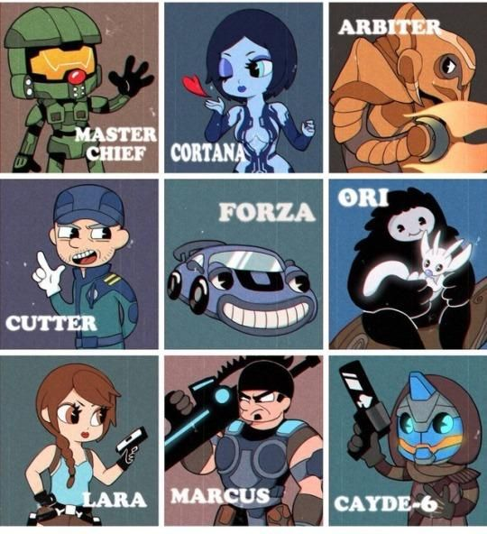 Famous Video Game Characters In The Style Of Cuphead Game Character Funny Games Video Games Funny