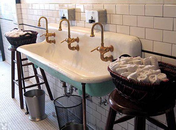 Sink: Vintage Porcelain Sink   Sinks   Pinterest   Porcelain Sink, Sinks  And Porcelain
