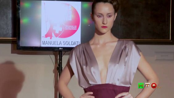 Swiss Fashion World all'Ambasciata Svizzera in Italia - Sfilata di Manue...