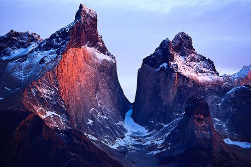 torres del paine national park patagonia chile. Larry Gaskill