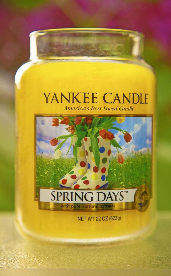 Yankee Candle Spring Days large jar candle #YankeeCandle #MyRelaxingRituals