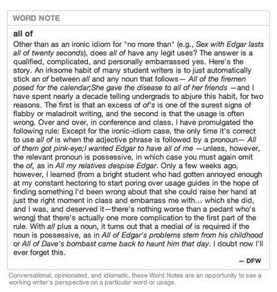 david foster wallace terminator 2 essay