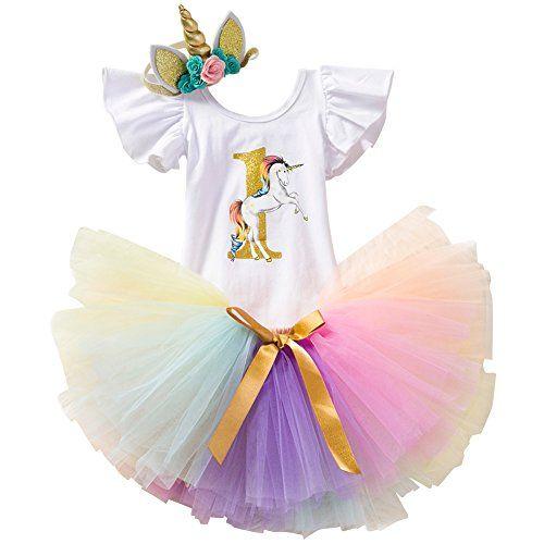 UK Newborn Baby Girl My 1st Halloween Romper Tutu Dress 3Pcs Clothes Outfits Set