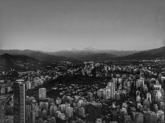 Bye Santiago. View from Sky Costanera . . . . #pb #bw #chile #santiago #santiagodechile #mountains #andes #cordilleraandes #blacknwhite_perfection #travelphotography #travelgram #bwtravel #fuji #fujifilmxseries #fujifilm #xe1