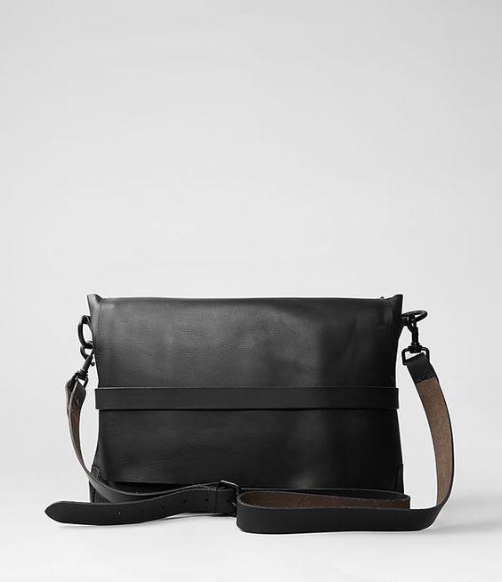 Mens Storm Bag (Black) | ALLSAINTS.com