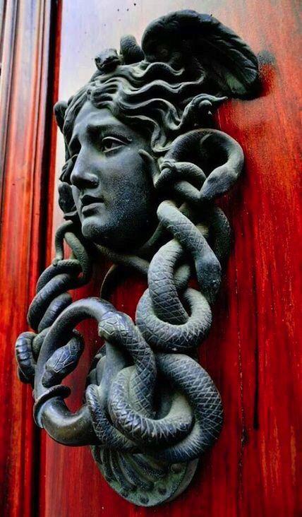 Door knocker..
