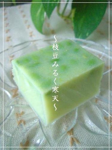 ◆ Summer Dessert ◆ Edamame Milk Kanten