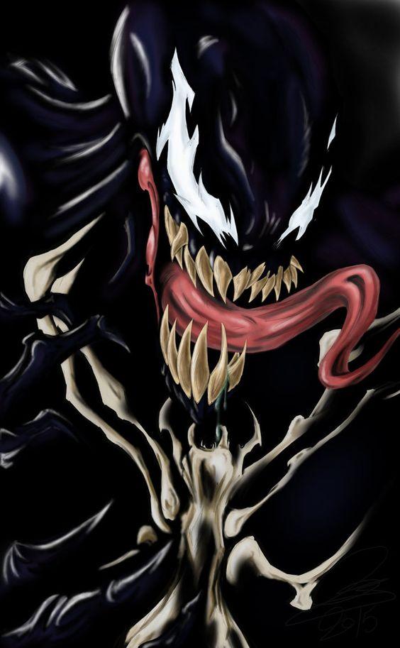#Venom #Fan #Art. (Venom) By: Camillestjean. ÅWESOMENESS!!!™