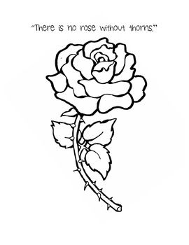 There's no rose without a thorn