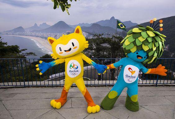 Olympia-Maskottchen: Die Veranstalter der Olympischen Spiele und der Paralympics 2016 in Rio de Janeiro haben die Maskottchen der Sportveranstaltung am Zuckerhut vorgestellt. Die beiden Figuren repräsentieren in einer Design-Mischung aus Pop-Art und Animation die Flora und Fauna des fünftgrößten Landes der Erde. Mehr Bilder des Tages auf: http://www.nachrichten.at/nachrichten/bilder_des_tages/ (Bild: Reuters)