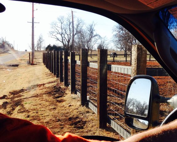 Fence Railroad Ties 2x6 Amp Cattle Panels Too Easy But I