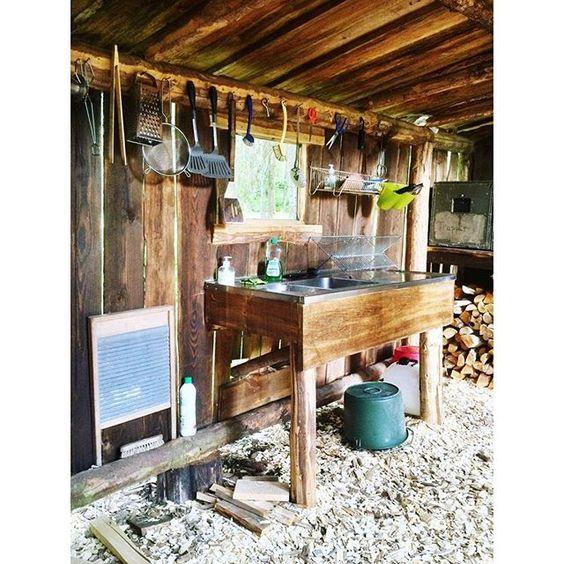 Bei so einer coolen (Outdoor-)Küche meldet man sich doch sogar freiwillig zum Küchendienst... 😉