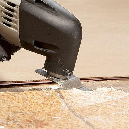 Use The Scraper Attachment To Remove Stubborn Wallpaper