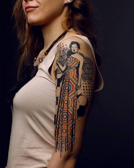 Les tatoueurs d'avant-garde ou la scène tattoo moderne : Le tatouage dit de…