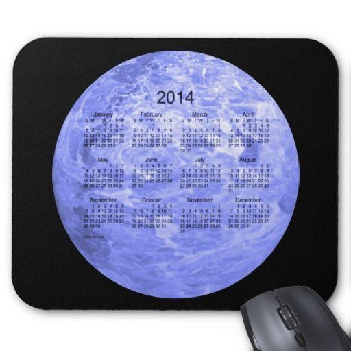2014 Calendar Mousepad Design from Calendars by Janz