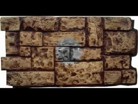 imitacion de pared de piedra con fachaleta