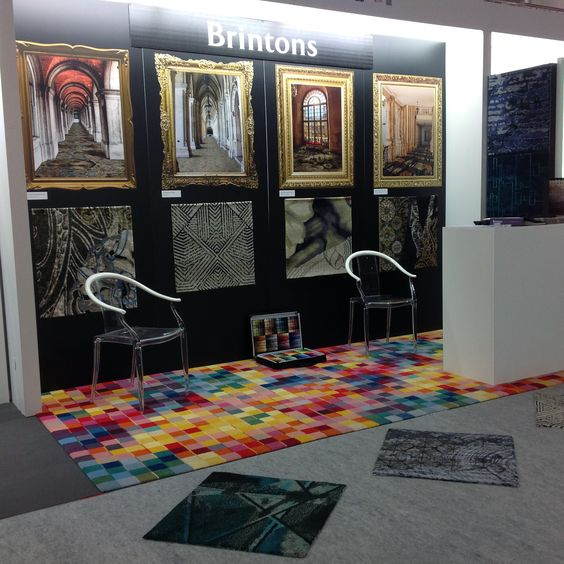 Brintons stand at Maison & Objet