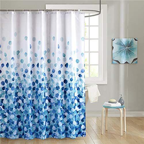 Pin By Allyson Orr On Bathroom Ideas Fabric Shower Curtains