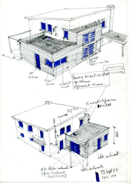 extensions croquis and lyon on pinterest. Black Bedroom Furniture Sets. Home Design Ideas