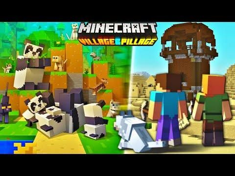 Minecraft Pe 1 9 Trailer Minecraft Pocket Edition Village