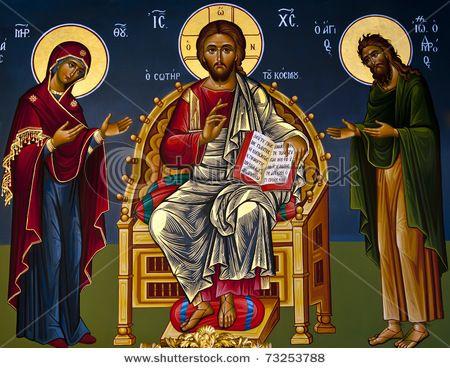 Ancient Orthodox Icon: