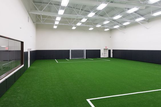 Goal Indoor Soccer Field Free Estimate At Paradisegreens Com Indoor Soccer Field Soccer Room Home Basketball Court