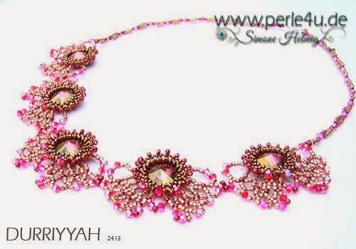 www.PERLE4U.de - Pearl * Instructions * Jewelry: Instructions pattern scheme