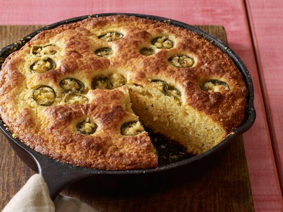#GrillingCentral: Food Network Magazine's Jalapeno Cornbread: Network Kitchen, Jalapeño Cornbread, Cornbread 10, Kitchens Food, Kitchen Foodnetwork, Jalepeno Cornbread, Cornbread Recipes, Jalapeno Cornbread