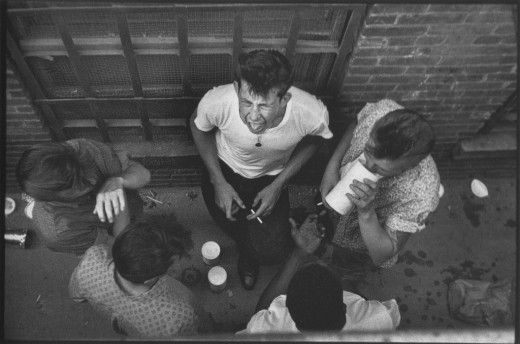 1950s gang photos. Think West Side Story ... except more people died.