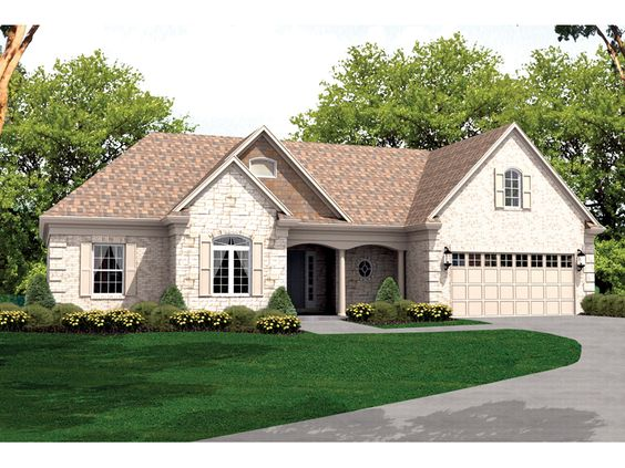 House plans roof tiles and ranch home plans on pinterest for House plans and more com home plans