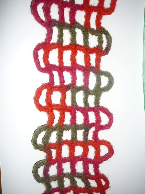 Crocheted on big hook then felted Ravelry Pinterest Pattern ...