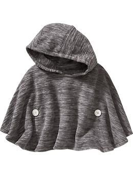 Performance Fleece Hooded Poncho for Baby | Old Navy