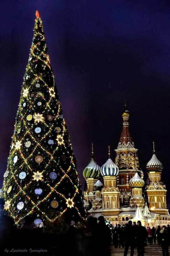 Christmas Tree on the Red Square-Moscow,Russia