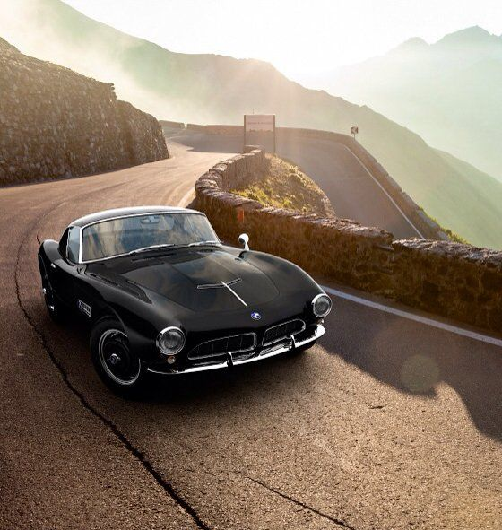this is how sexy the BMW 507 is