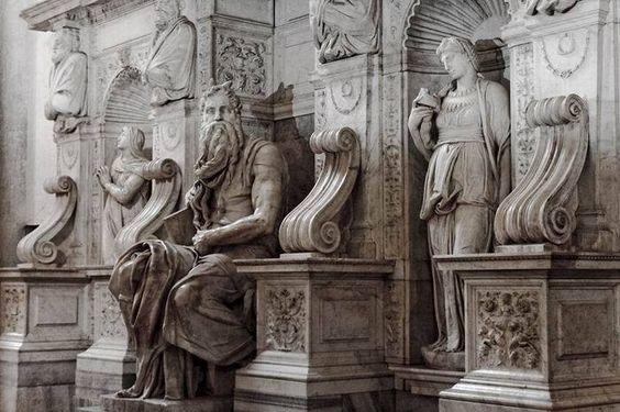 Roma di Michelangelo: BASILICA DI SAN PIETRO IN VINCOLI
