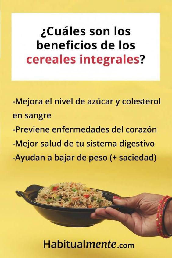Qué Son Los Cereales Integrales Y Cómo Aprender A Elegirlos La Guía Completa Habitualmente Comida Nutrición Recetas De Comida