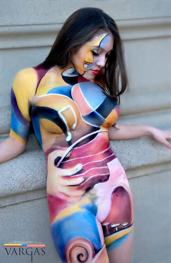 images of body painting | Body painting japanese ← Creative Paintings: