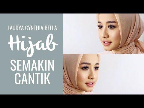 Tutorial Hijab Segitiga Ala Laudya Chintya Bella Gaya Hijab Hijab Youtube